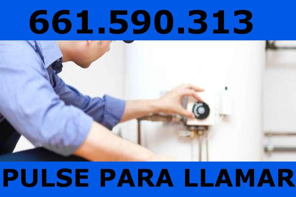 reparacion caldera gas San Sebastian de los Reyes